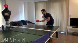Tischtennis lernen Profi