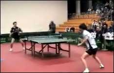 tischtennis, ping-pong, schläger, tischtennisplatte, spielen