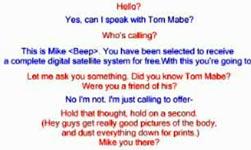 Genialer Telefonstreich
