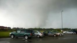 Tornado im Auto, USA