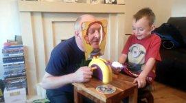 Spiel Torte ins Gesicht