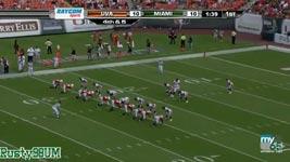 Thearon Collier, Touchdown, Football