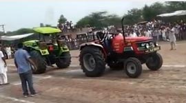 tractor fight