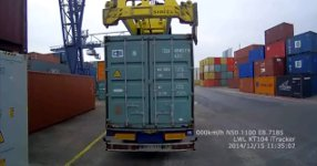 Container Truck Fail