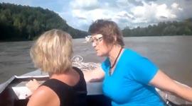 Russlang, Truck, Fluss