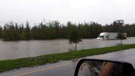 Truck Hochwasser