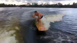 Russischer Tür-Surfer