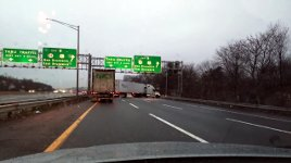 Unfall LKW Crash Autobahn