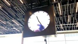 Uhr Flughafen Amsterdam