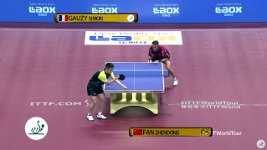 Unbelievable Table Tennis Roller Shot