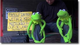 under pressure, kermit der frosch
