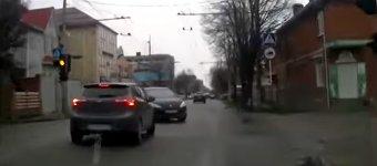 Unfall Verkehrsschild Kopf