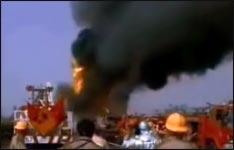 unglaubliche, explosion