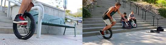 Einrad Freestyle