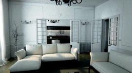 Unreal Paris CGI Apartment