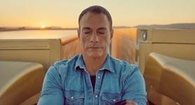 Jean-Claude Van Damme, Spagat Parodie