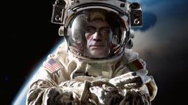 Van Damme, Weltraum, Spagat