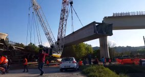 Varese Construction Crane Collapse