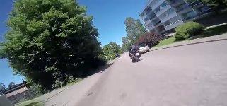 Motorrad Verfolgungsjagd