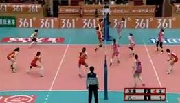 frauen volleyball, china, ballwechsel