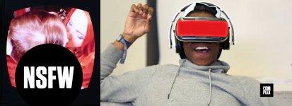 Reaktionen auf einen Virtual Reality Porno
