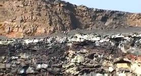 Vulkan, Lava, Müll