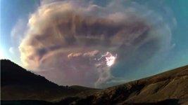 Vulkan Gewitter Sturm