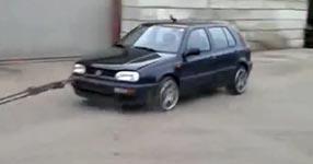 VW Motorblock demontage