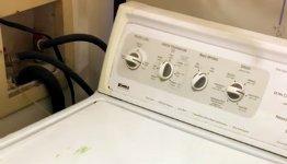 Duett mit Waschmaschine