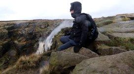 Wasserfall, Sturm