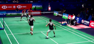 Ultra Point beim Badminton