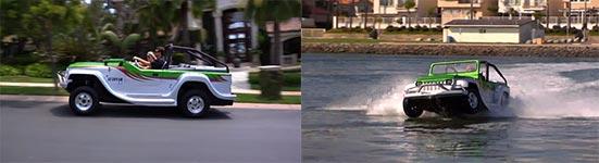 WaterCar Panther, Amphibienfahrzeug