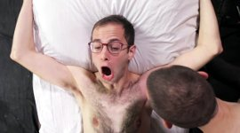 Männer Waxen Brust