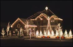 Weihnachtsbeleuchtung, Lichterketten