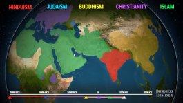 Religion Ausbreitung