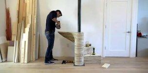DIY Wendetreppe CNC Sperrholz