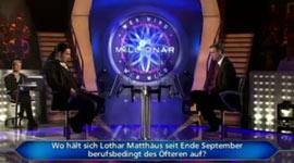 Wer wird Millionär, Lothar Matthäus