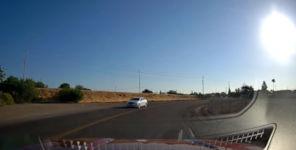 Fahrerflucht Unfall fliegen