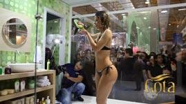 brasilien, Duschen, einkaufszentrum