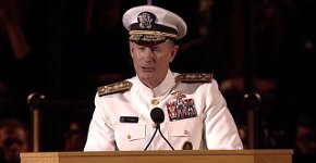 Rede US Navy Admiral William H. McRaven