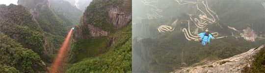 Wingsuiten in China