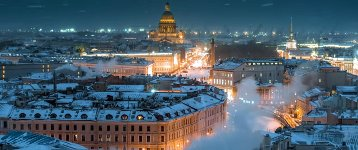 Winter in Sankt Petersburg