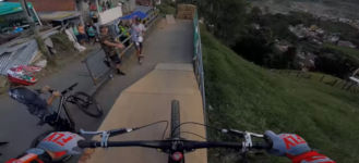 World Record Urban Downhill Track