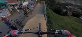 World Record Urban Downhill Track
