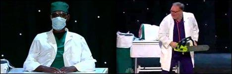 zaubern tricks, zaubern lernen, shop, kettensäge, Kevin James