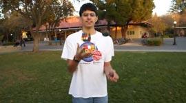 Zauberwürfel jonglieren