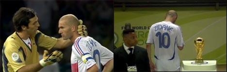 Zinédine Zidane, Kopfstoß, Kopfnuss, Finale WM 2006, Frankreich, Italien
