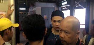 Killer Bahn-Tür auf den Philippinen